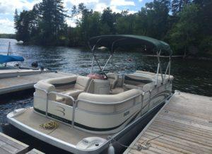 60 hp outboard bass tracker fishing boat w trolling motor for Trolling motor for 18 foot boat